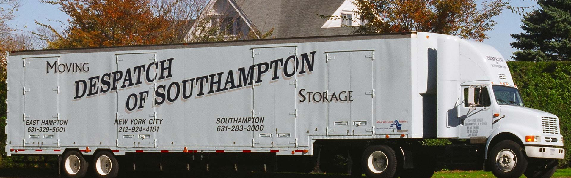 Interstate household goods moving & storage services